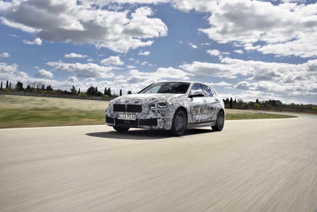 Nowe BMW serii 1 ostatnia faza testów w Miramas